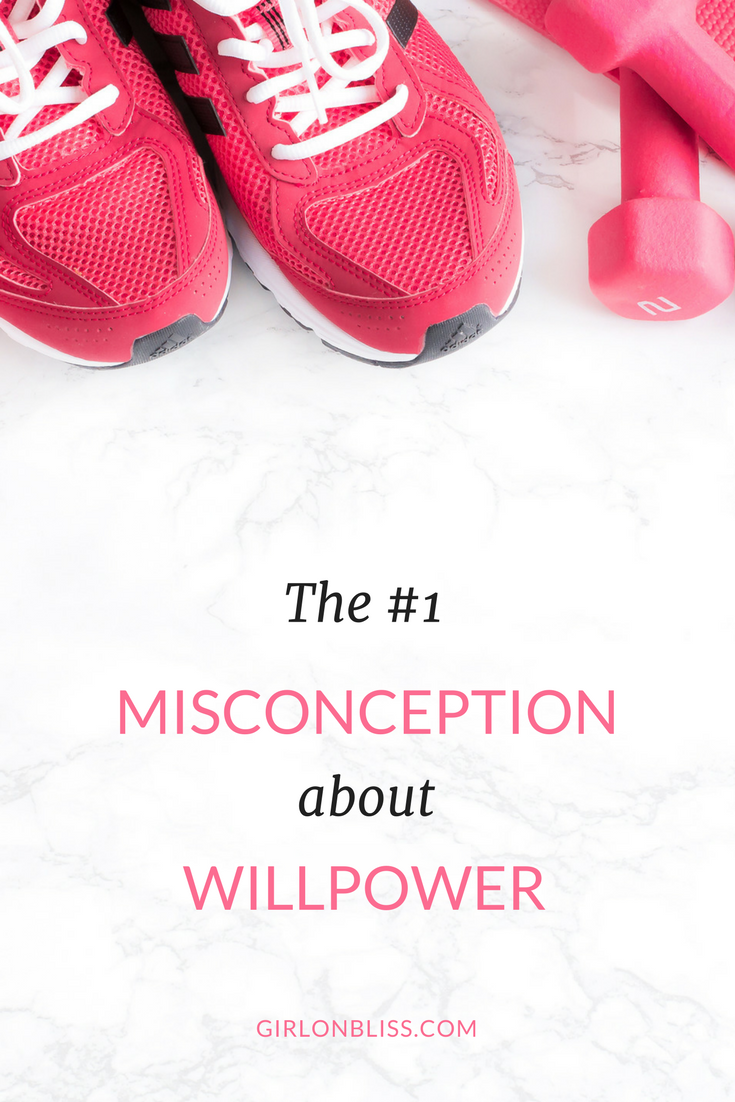 The #1 Misconception about Willpower