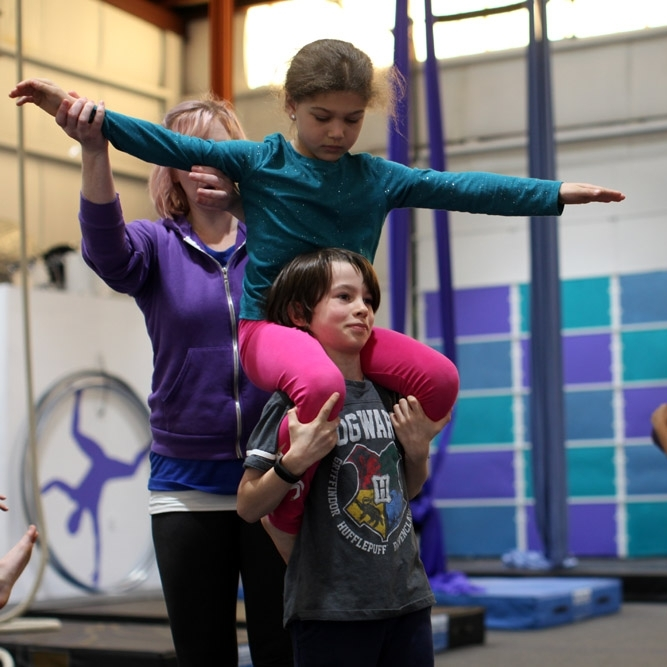 Youth Tumbling & Partner Acrobatics