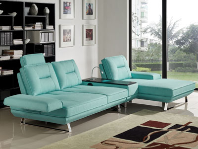 Contempo Sectional with Bluetooth / iPhone integration