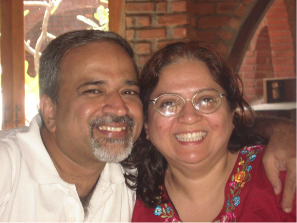 Shyam and Kanchan Keswani