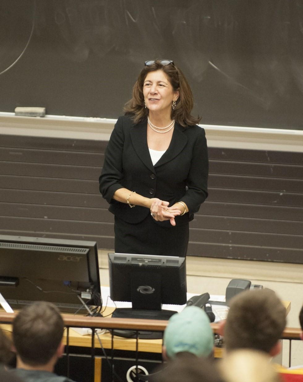 Professor Sherri Moore. Photograph: Odyssey.