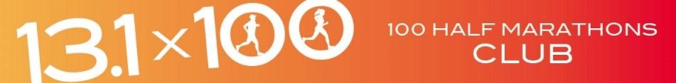 Official logo of 100 Half Marathons Club