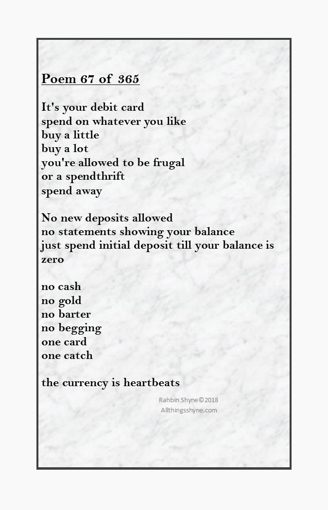 Spend Wisely - Rahbin Shyne