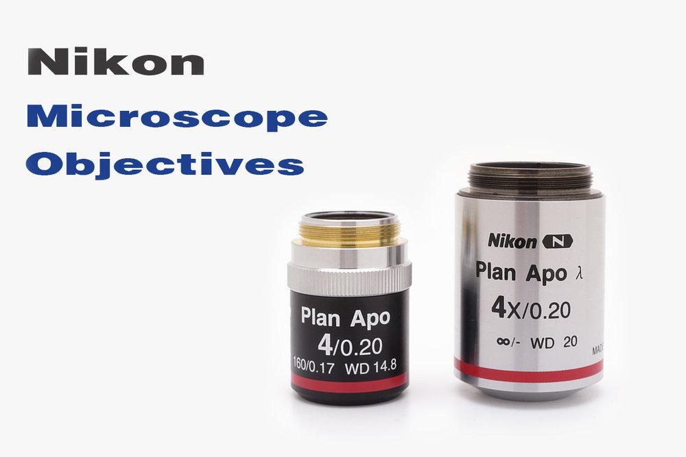 Nikon Microscope Objectives
