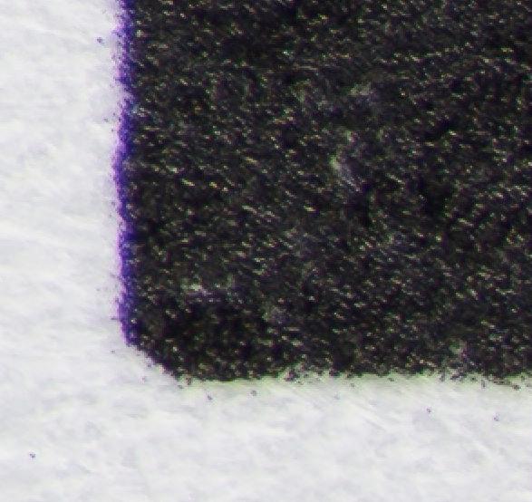 Voigtlander 125mm f2-5 APO-Lanthar at f2.5 200% pixel view at f/2.5