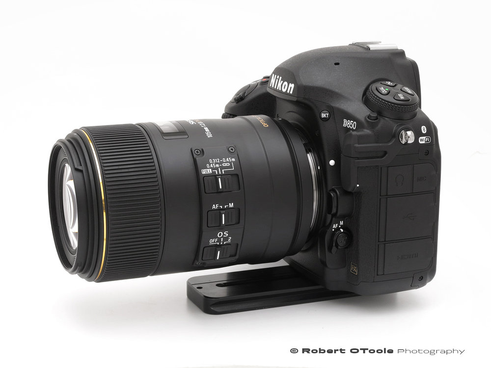 Test Chart for Sigma 105mm F2.8 EX DG Macro Lens