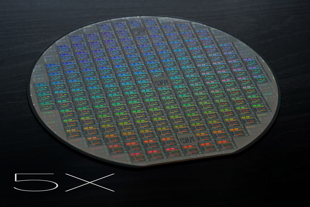 5x Lens Test Wafer