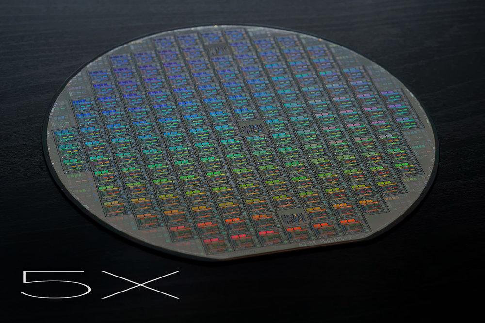 5x Lens Test Wafer