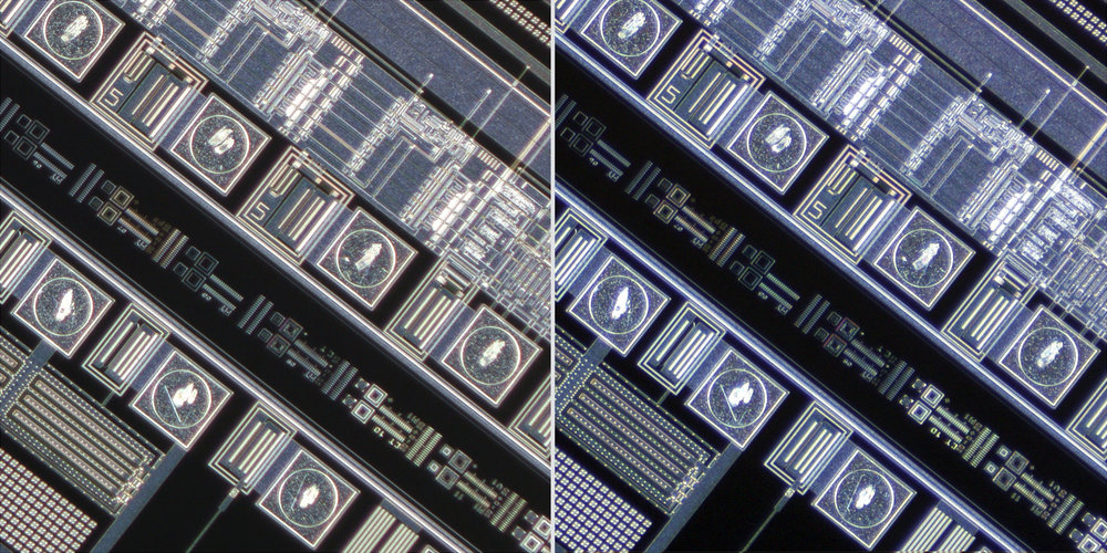 Canon 20mm f3.5 MacroPhoto Lens vs Tominon 17mm f4 lens 100% Corner Crops