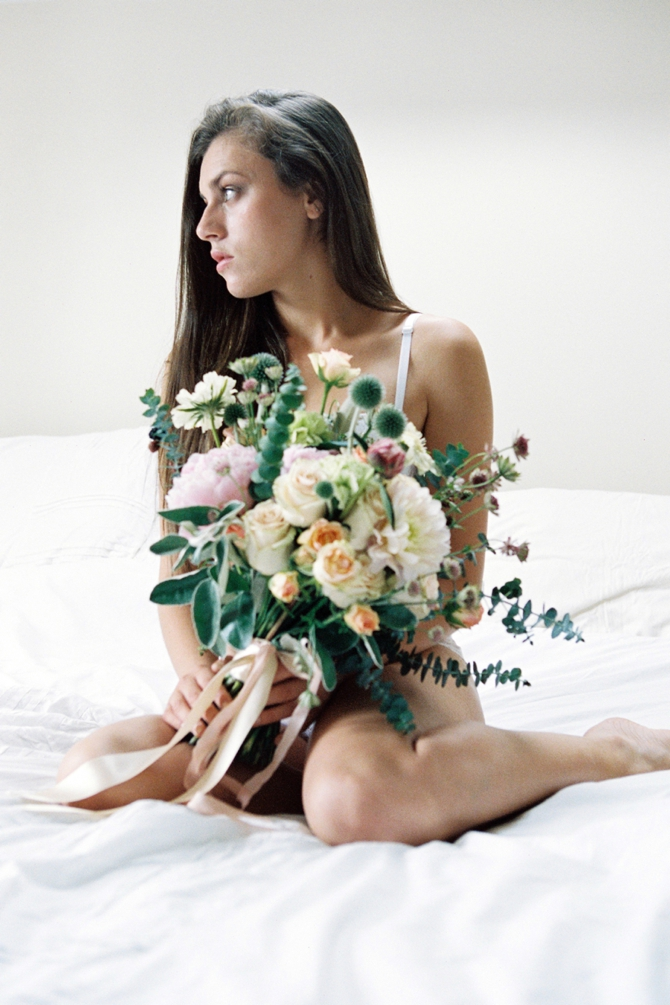Floral Boudoir inspiration by #VeronaLain // Featured on #BoudoirCollective