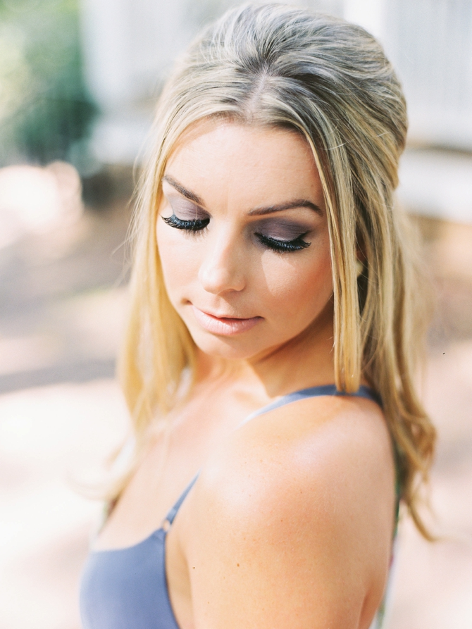 Taken by Sarah + Blush Beauty and Makeup // Featured on #BoudoirCollective