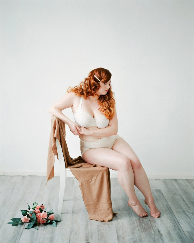 Rosy Boudoir by Katja Scherle // Featured on Boudoir Collective