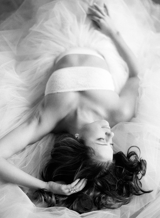 Pure Beauty Boudoir by #KristinLavoiePhotography // Featured on #BoudoirCollective