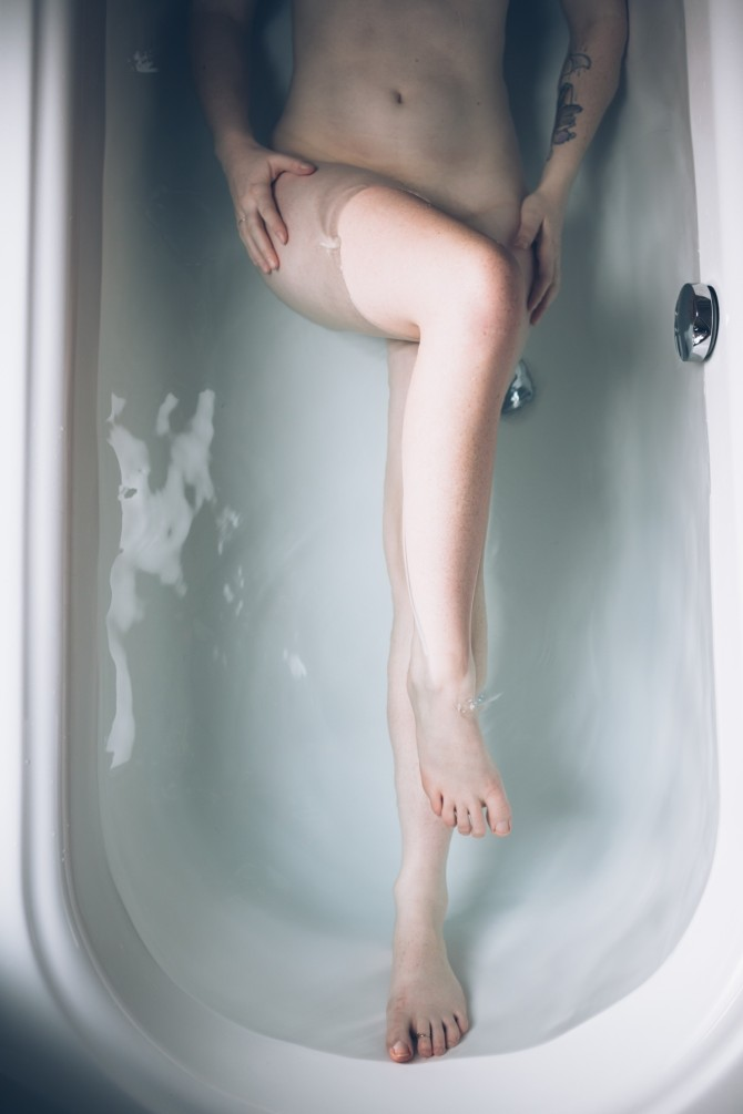 Bathtub Boudoir by #Talitha Crawford // Featured on #BoudoirCollective