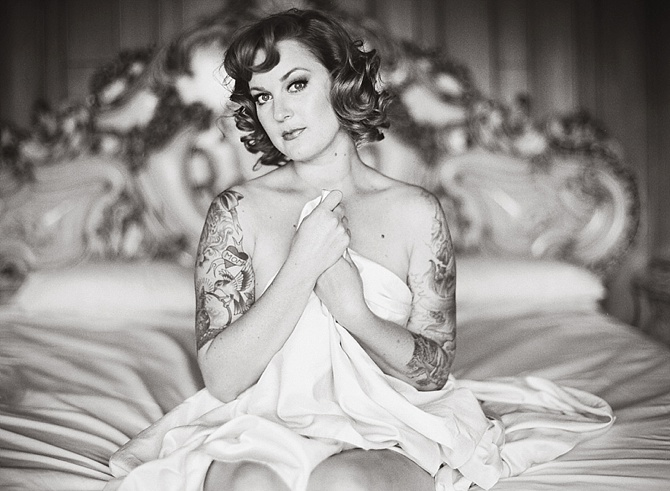 Hollywood Inspired Boudoir by #MichelleWarrenPhotography // Featured on #BoudoirCollective