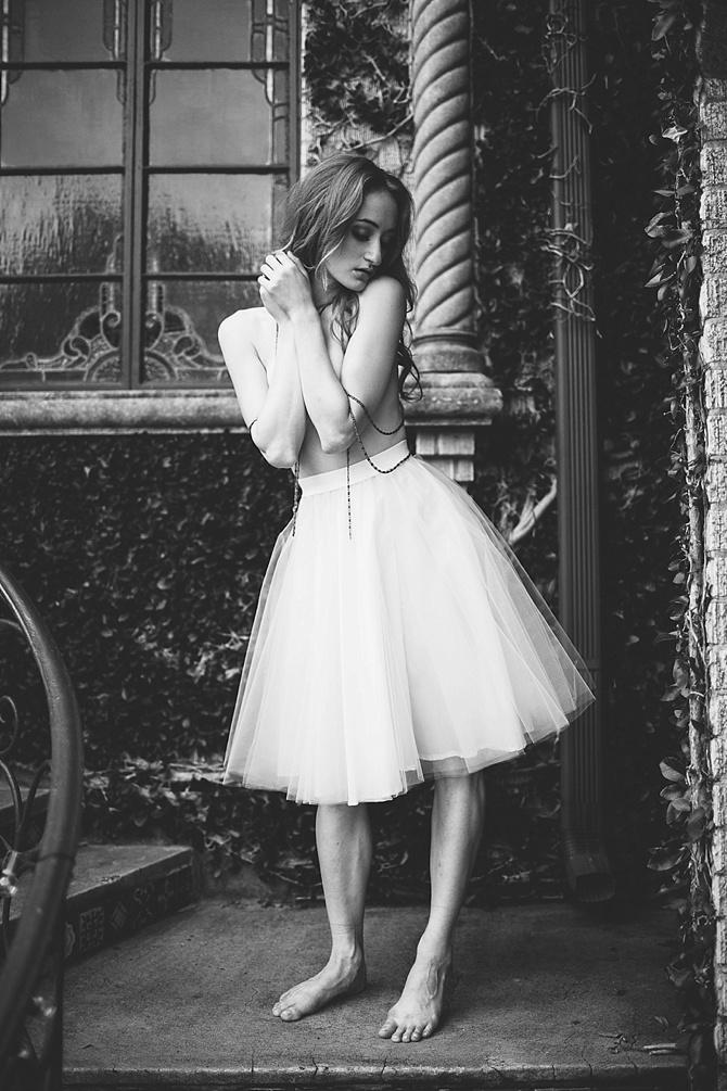 Ballet Boudoir by #Rachel&NoahRayPhotography // Featured on #BoudoirCollective