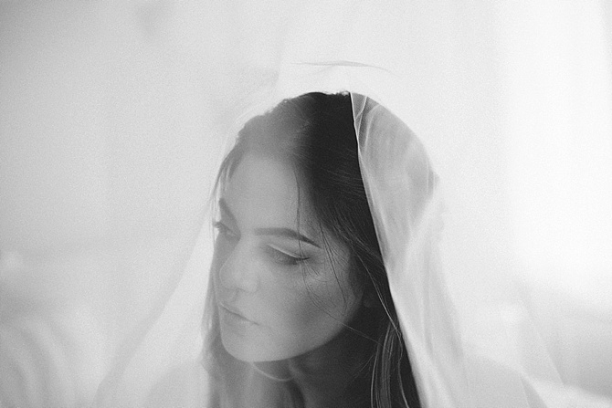 Moody Bridal Boudoir by #LaRousseWeddings // Featured on #BoudoirCollective