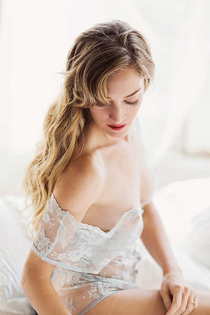 Edgy Bridal Boudoir by #ArchetypeStudioInc // Featured on #BoudoirCollective