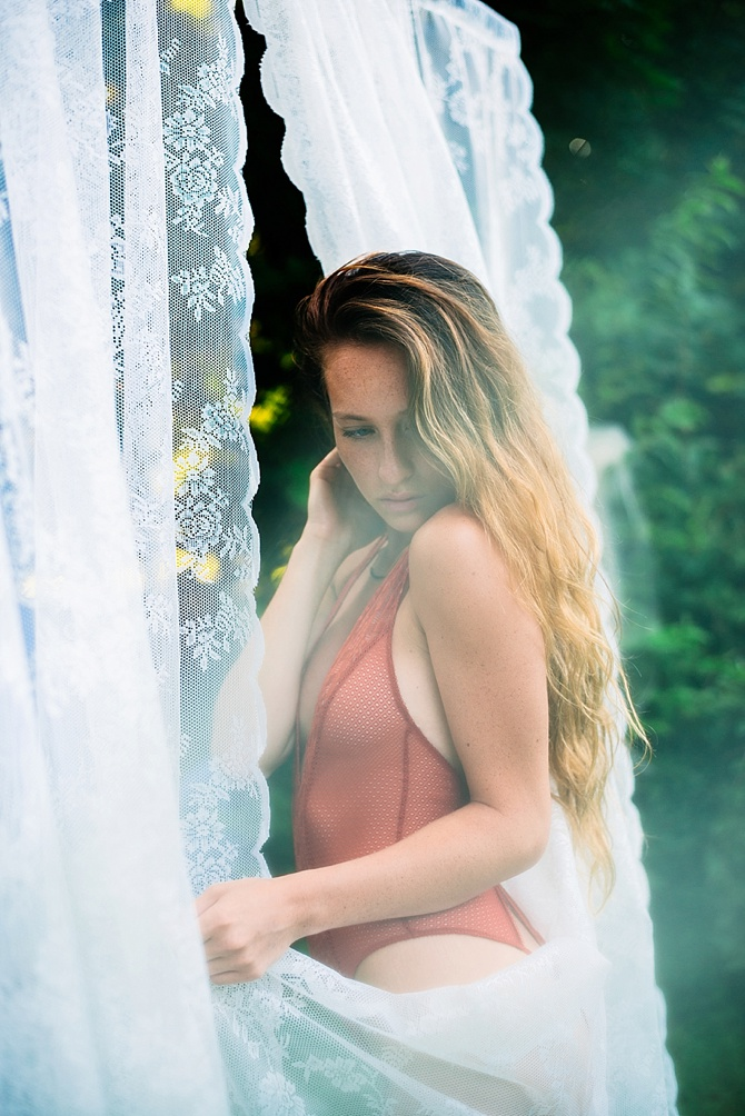 Daydream in Lace Boudoir by Lauren Driscoll Photography // Featured on Boudoir Collective