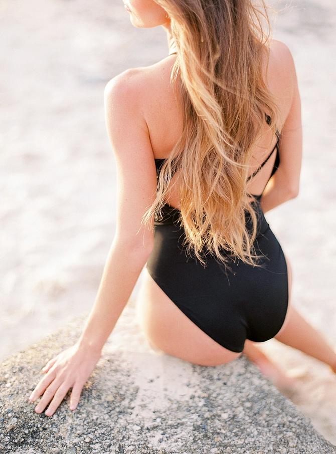 Boudoir on the Beach by Le Secret d'Audrey // Featured on Boudoir Collective