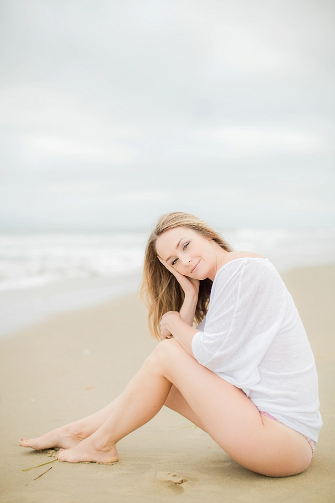 Beach Boudoir by Yours Truly Portraiture // Featured on Boudoir Collective