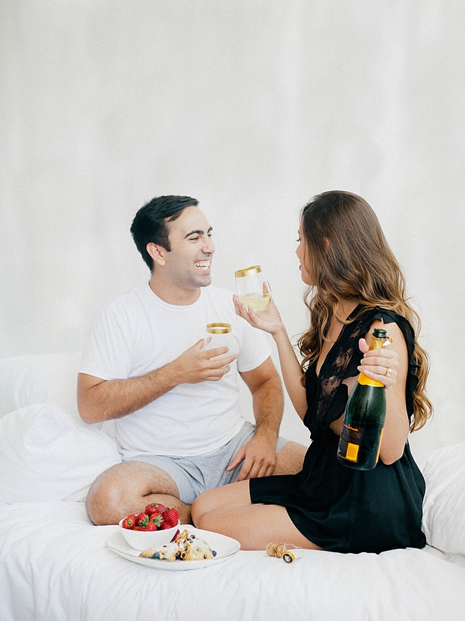 New Year's Eve Anniversary by Merari Photography // Featured on Boudoir Collective