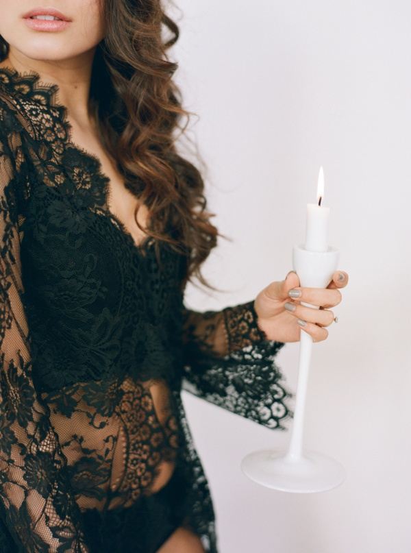 Bold and feminine boudoir by Tulle and Grace with Bowman and Clark Featured on Boudoir Collective www.boudoircollective.com
