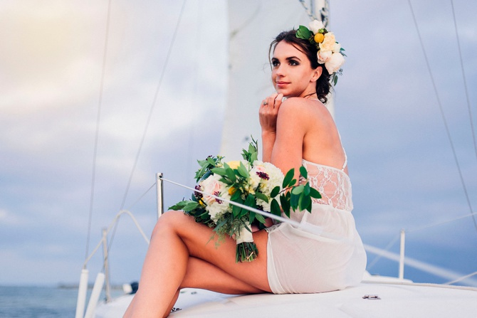 Sailboat boudoir inspiration by Remnant Photography on Boudoir Collective