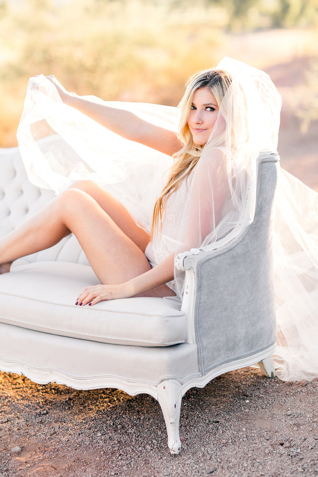 Ethereal Desert Boudoir by Peaches and Twine Fine Art Photography on Boudoir Collective