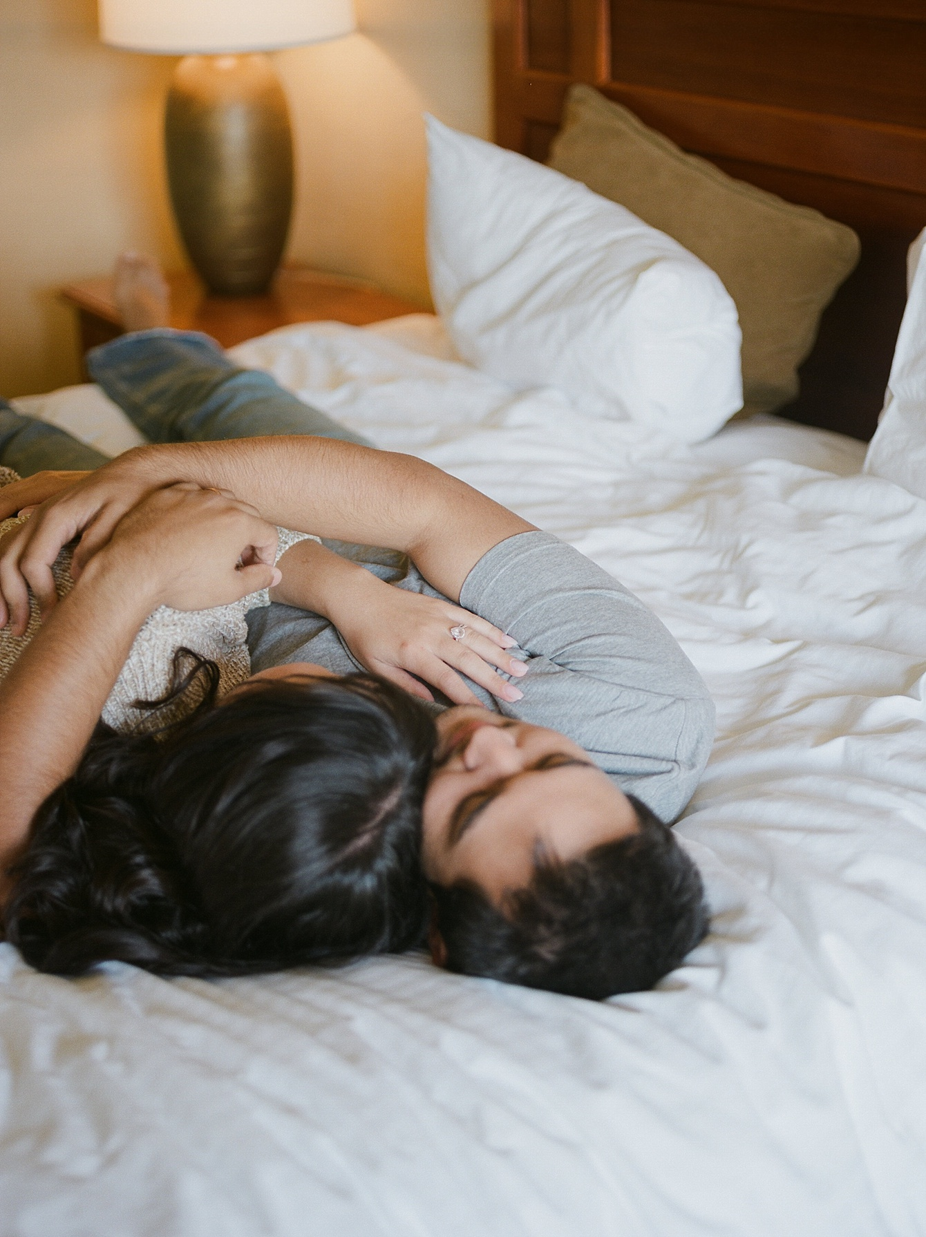 Intimate couple's boudoir by Katherine Rose Photography