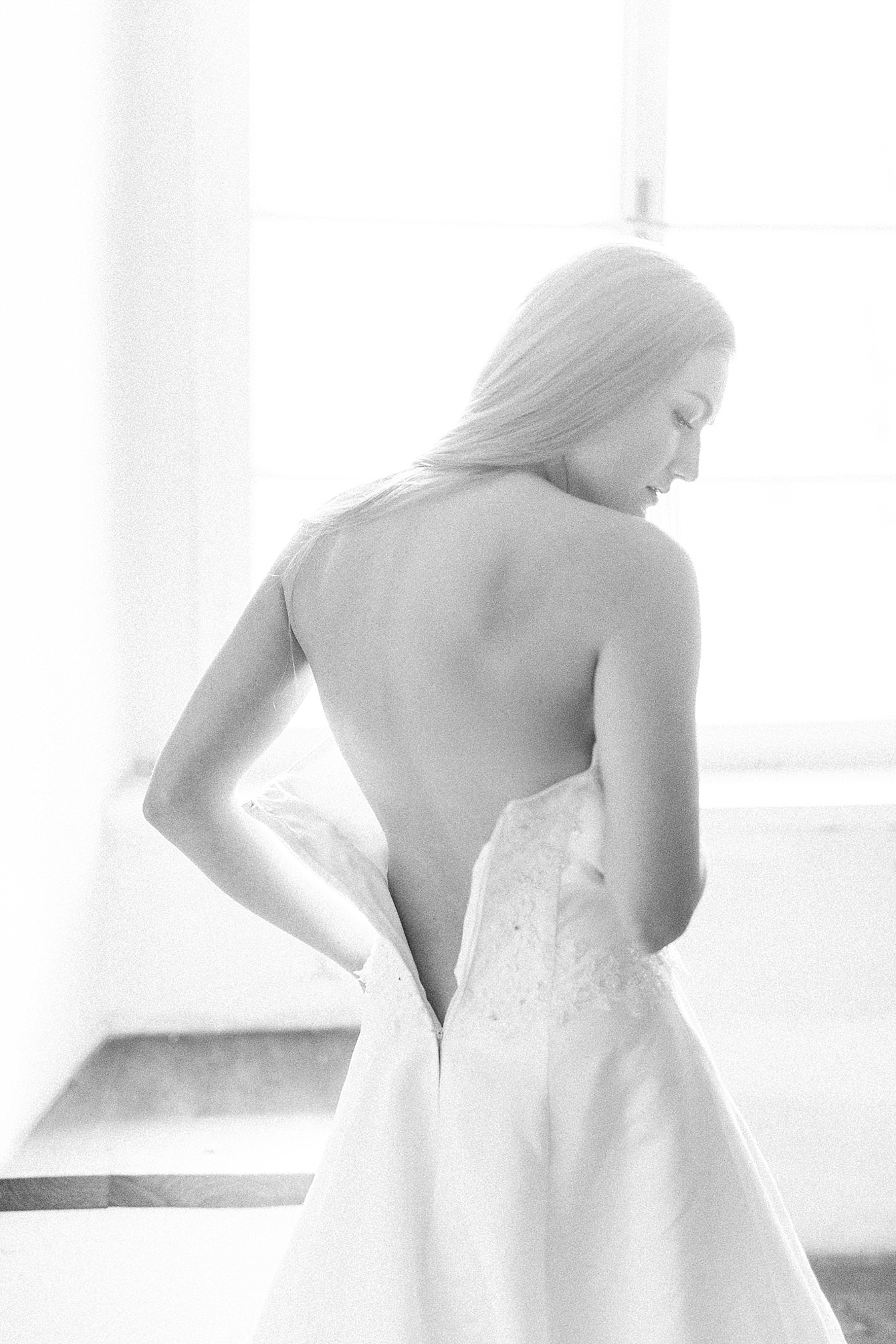 Intimate bridal boudoir portraits by a Twist of Lemon Photography