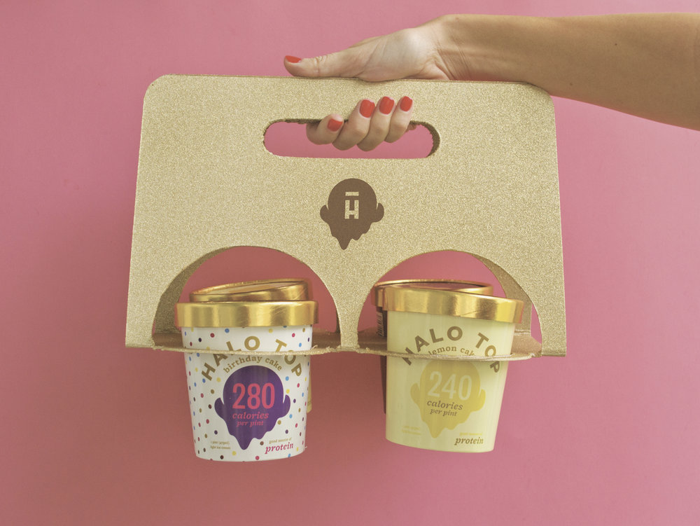 carriers – because less trips to the grocery means more time to eat ice cream