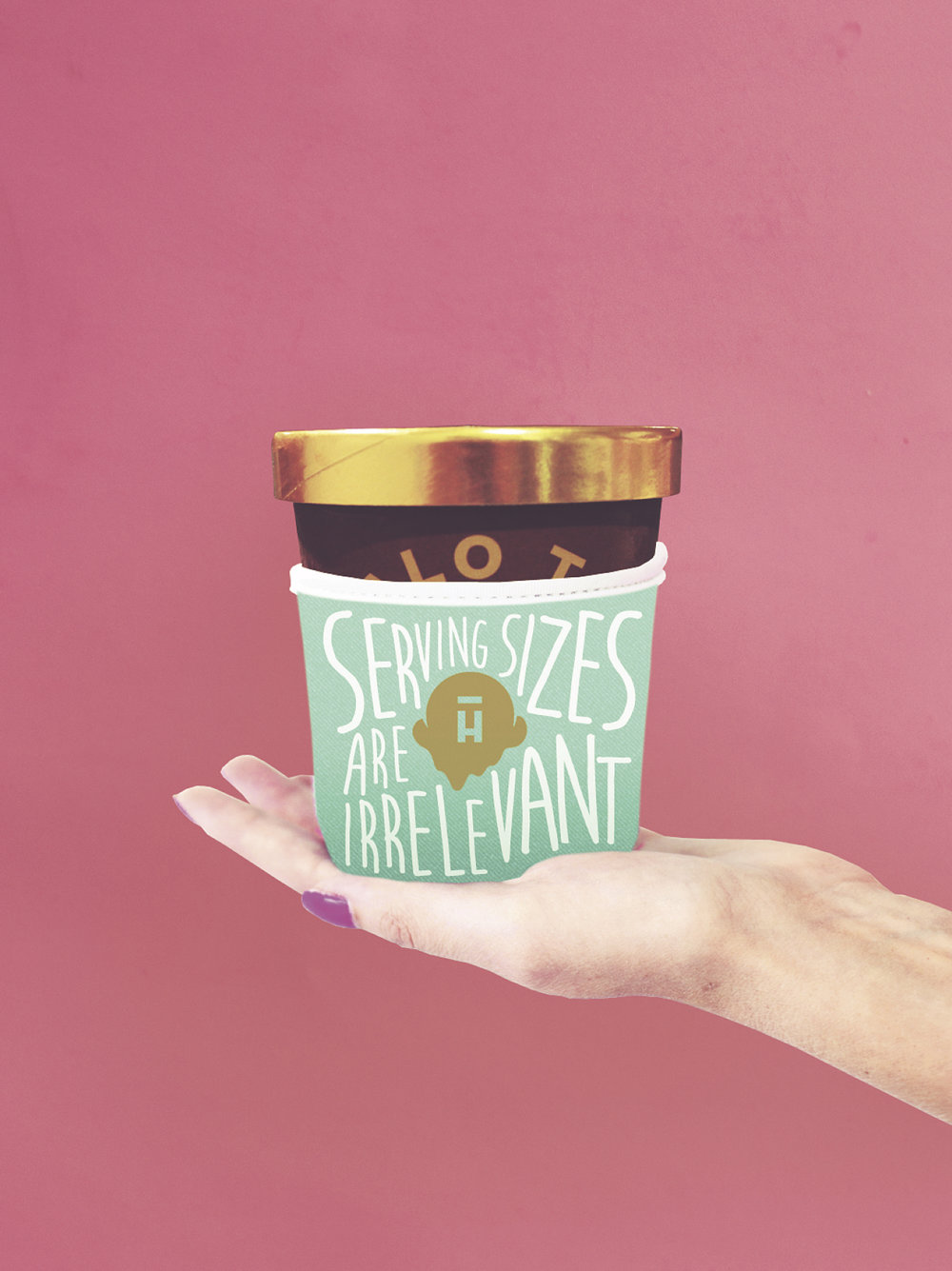 pint-sized koozies – because let's be honest with ourselves