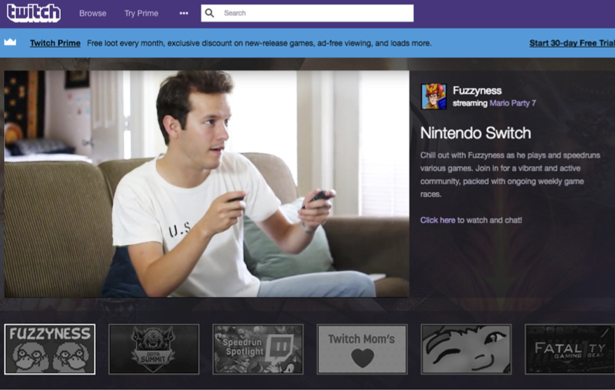 twitch permastream – an online permanent stream of gamers doing what they do best