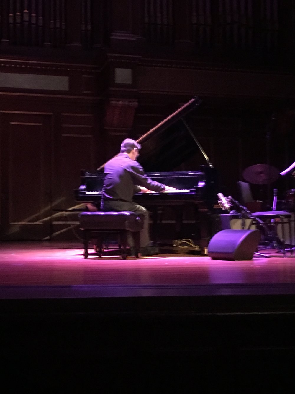 "Fred Hersch performs a solo medley of ""Ask Me Now"" and ""Work."""
