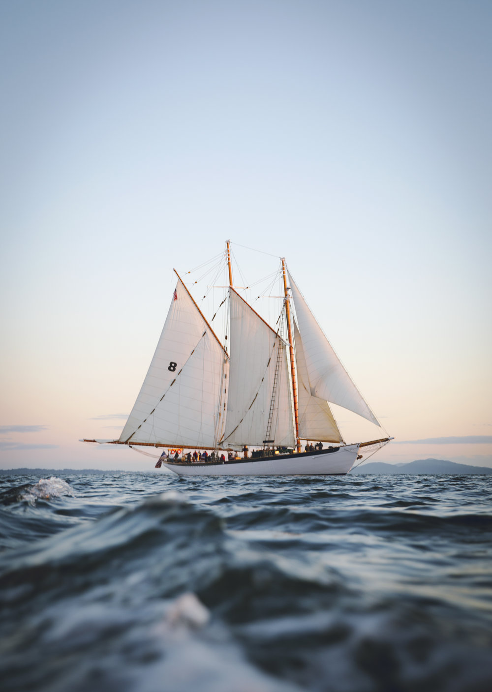 The Zodiac Schooner, Washington