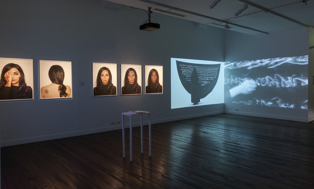 Installation view, Sixth Sense, National Art School Gallery, Sydney, 2016