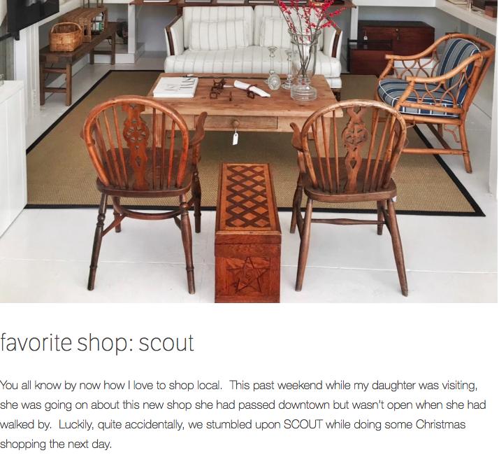 Scout on     ebd designs blog