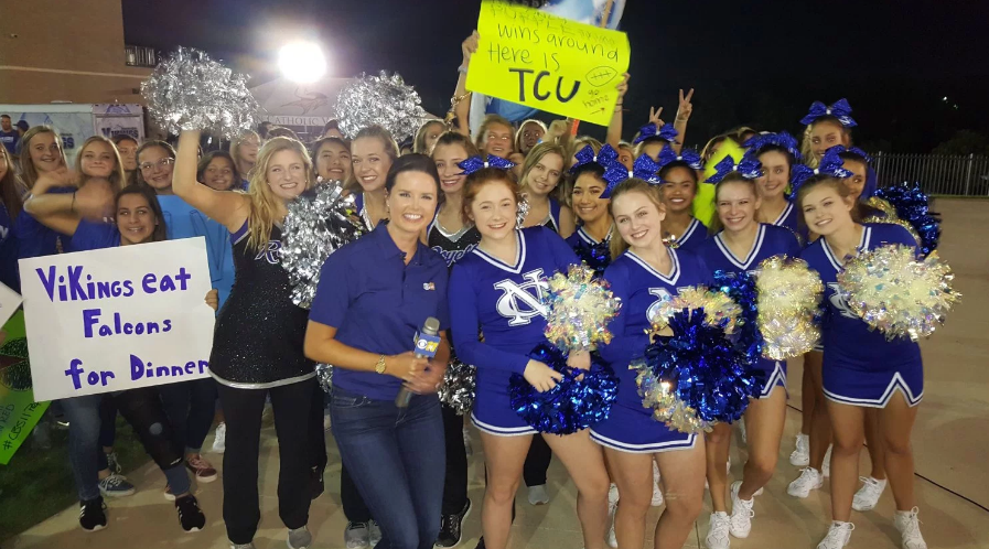 CHEER AND ROYELLES HIGHLIGHT CBS 11 PEP RALLY - Full Event