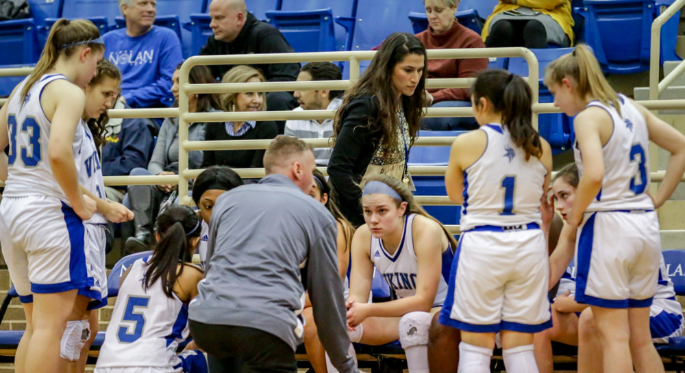 12/13 WBB FALLS TO BISHOP LYNCH, 74-33. -