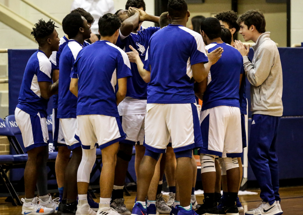 1/28 DEFENSE KEY IN MBB'S 58-18 WIN OVER TCA! -