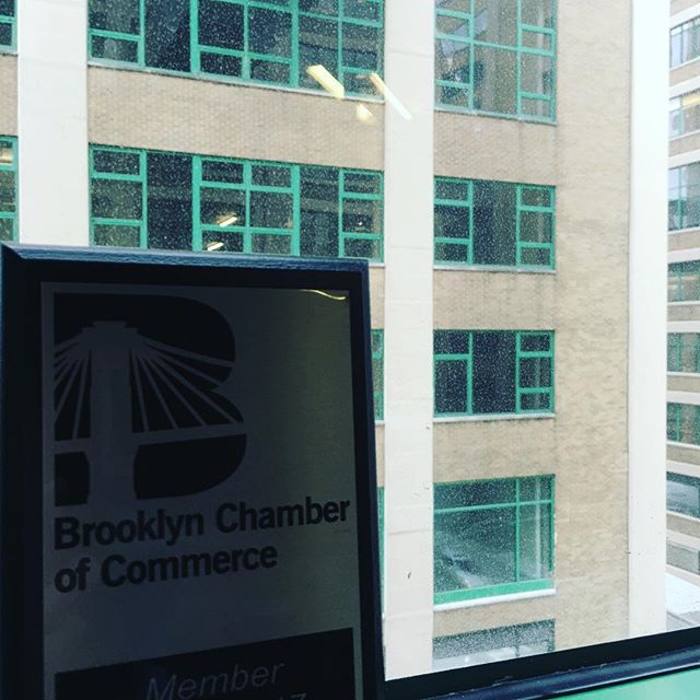 Even the view is green at Green Sky Bookkeeping, Inc. #GreenSky #bookkeeping #Brooklyn #smallbusiness #brooklynchamberofcommerce