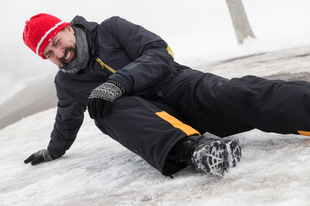 46407568_L_Slip and Fall_snow_injury_Male_men_snow suit_Snow pants_winter_jacket_hat_hurt_fallen_knee_feet_fell_ice.jpg