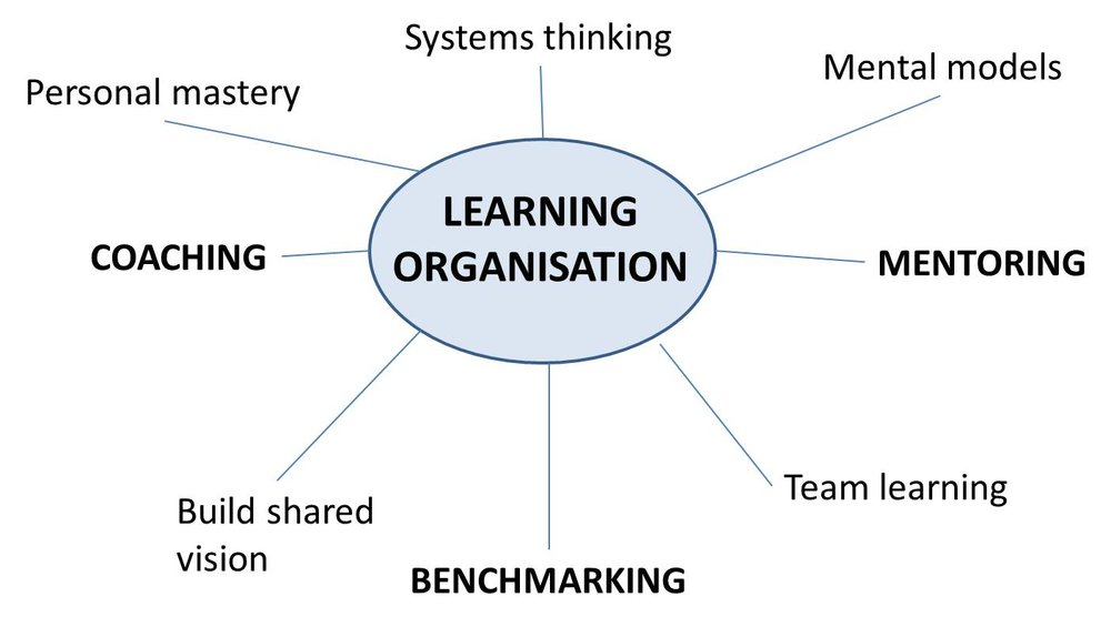 Figure 1. A model of the learning organisation