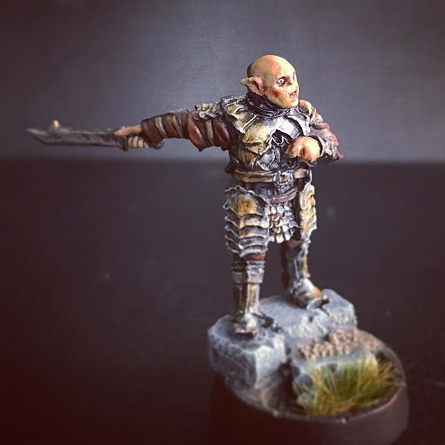 """""""The age of men is over"""" Finally got around to painting parts of my Mordor army"""