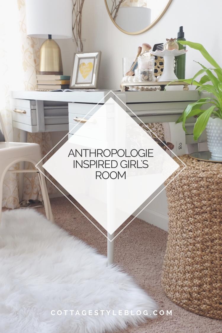 Anthropologie Inspired Girl\'s Room — cottage style blog