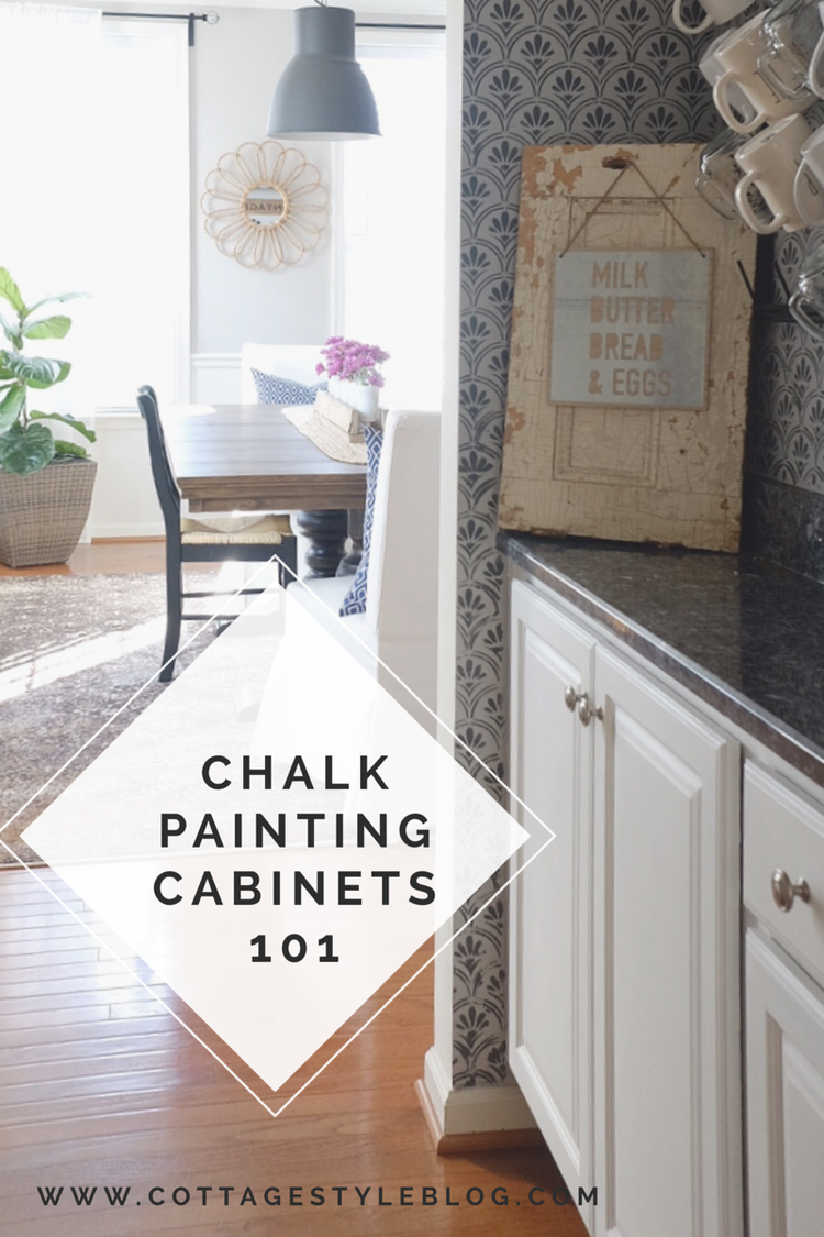 Chalk Painting Cabinets 101 — cottage style blog