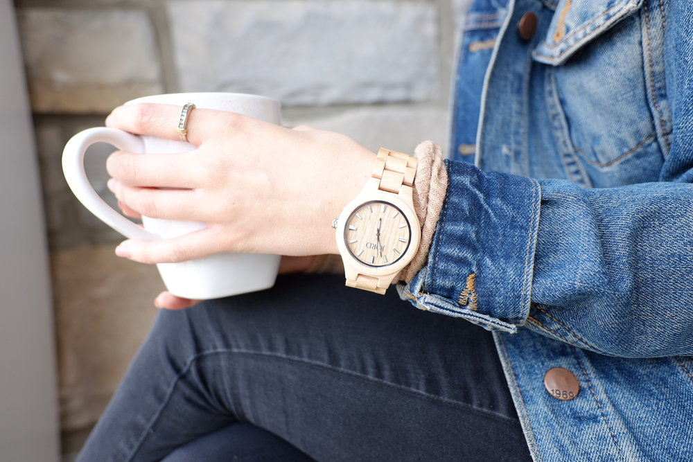 JORD Watches  look great with all of your Spring outfits!