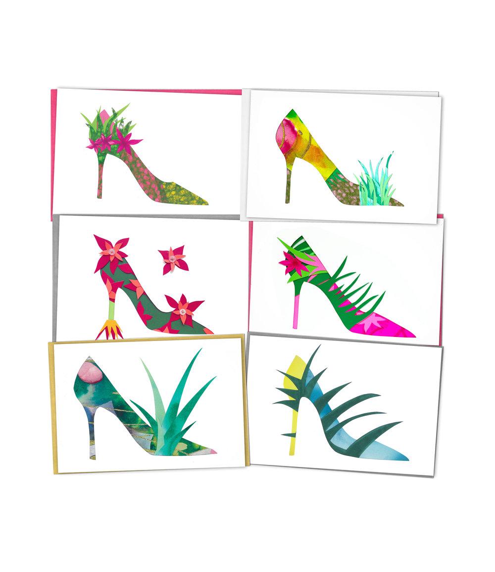 Garden Girl Cards