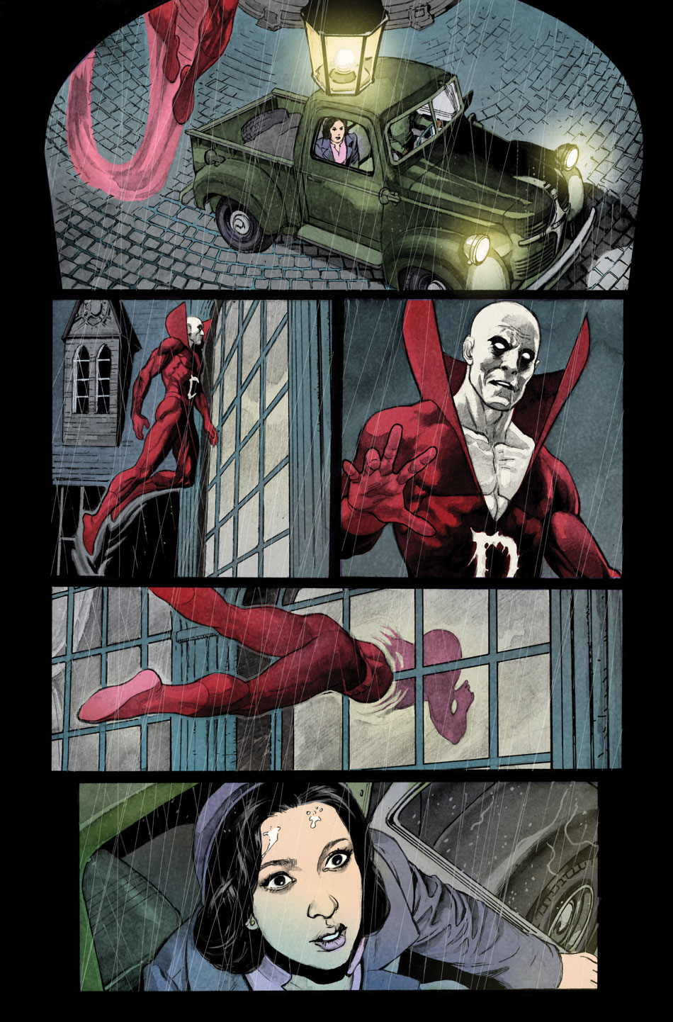 Modern Gothic Romance Comic from DC Comics Deadman